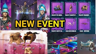 Free Fire New Event Get New Luck Royal Bundle,Hacker Store Event,Alock Character,Magic Cube  Bundle