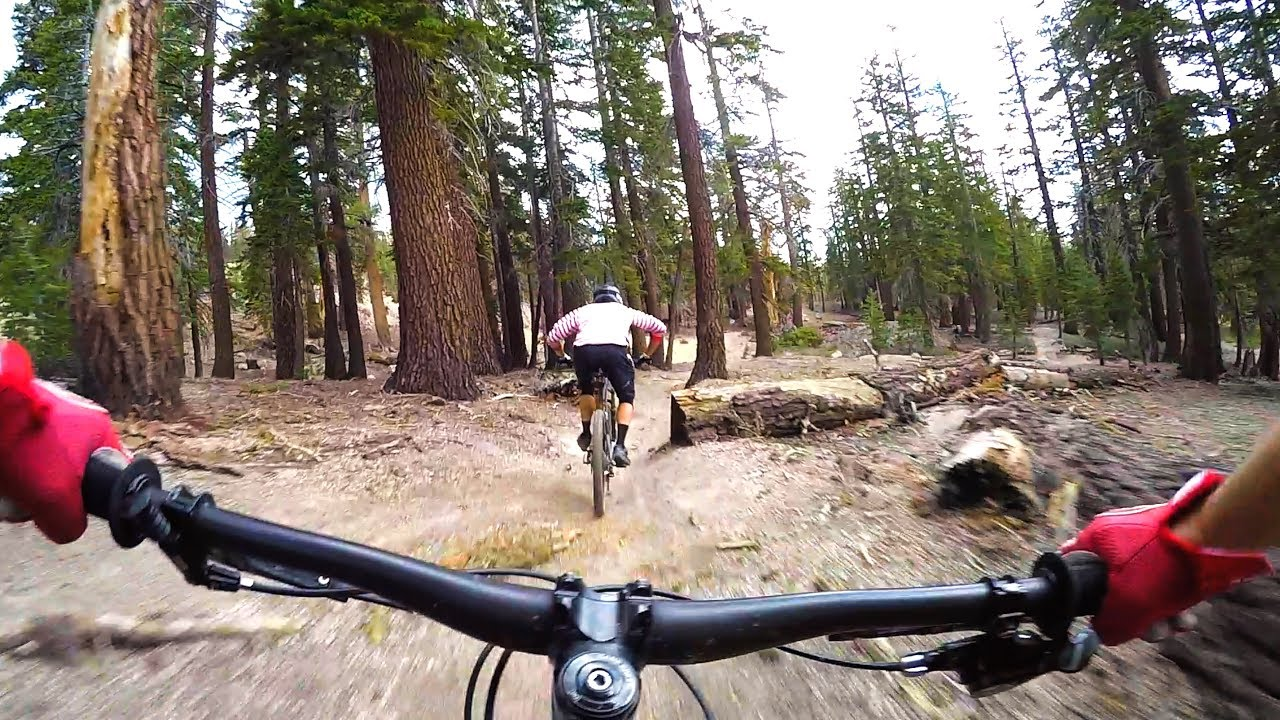 d1dd5adc528 Juniper Trail with Gabe at Mammoth Bike Park California - YouTube