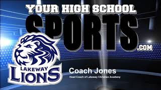 Coach Jones of Lakeway Christian Academy pt2