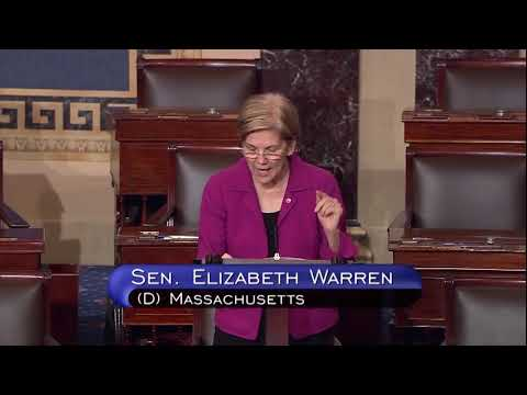 Senator Elizabeth Warren Speaks on the Equifax Hack