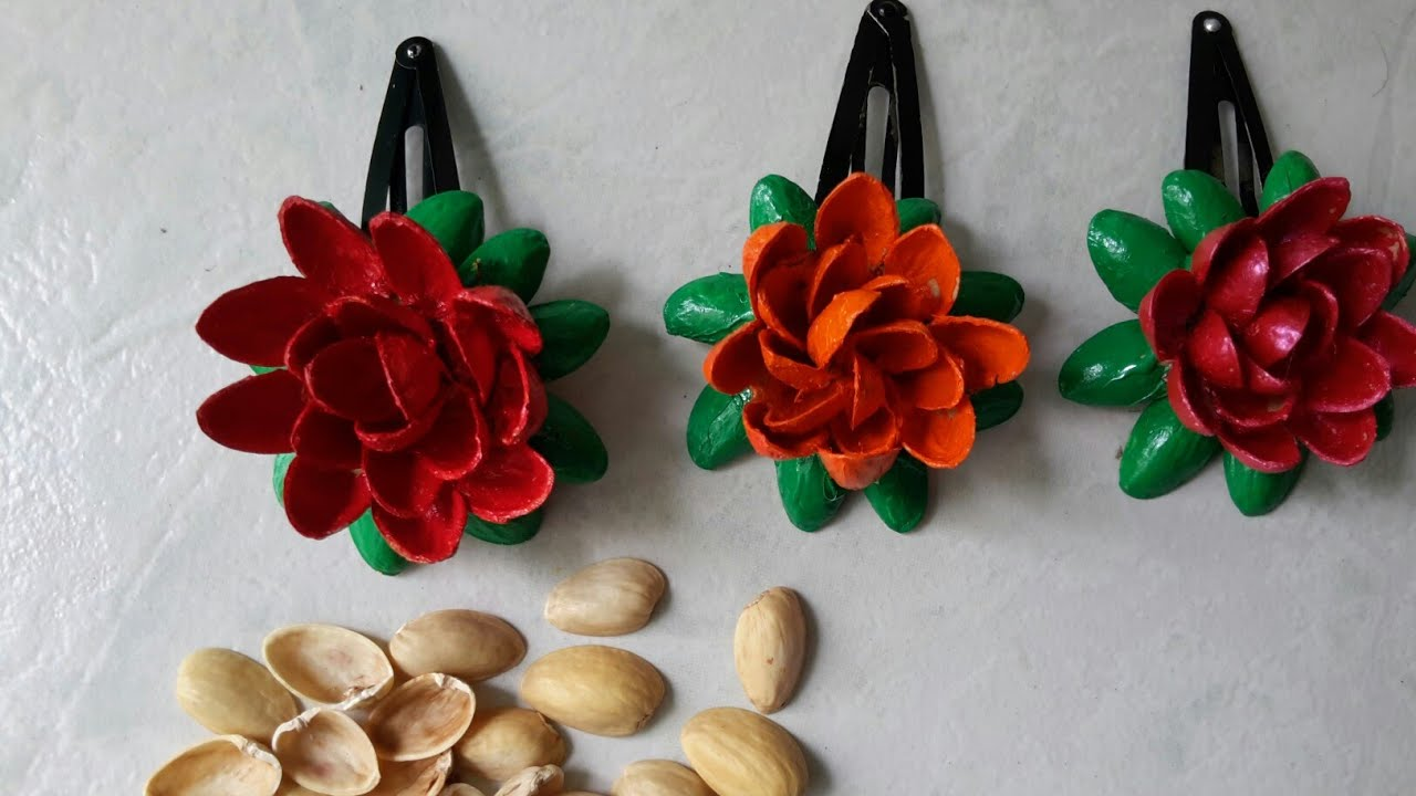 Best Recycled Craft With Pistachio Shells Craft Ideas With Pista