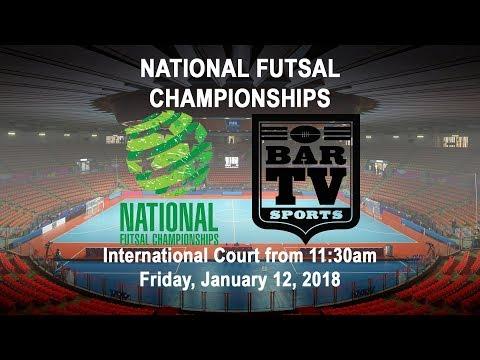 2018 National Futsal Championships - International Court