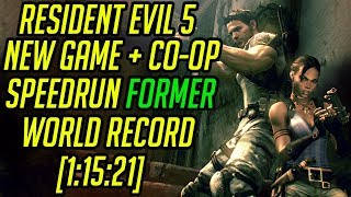 Resident Evil 5 NG+ Co-Op Speedrun Former World Record [1:15:21]