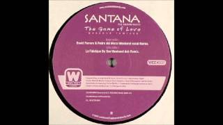 (2003) Santana - The Game Of Love [David Ferrero & Pedro Del Moral Weekend Vocal RMX]