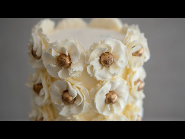 Floral Piping Tip Cake Tutorial- Rosies Dessert Spot