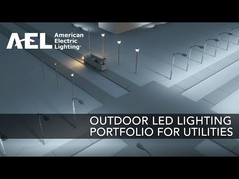 Utility Outdoor LED Lighting Products from AEL