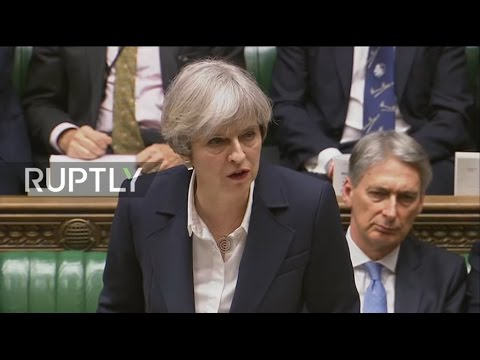 LIVE: Theresa May to hold statement following triggering of Article 50