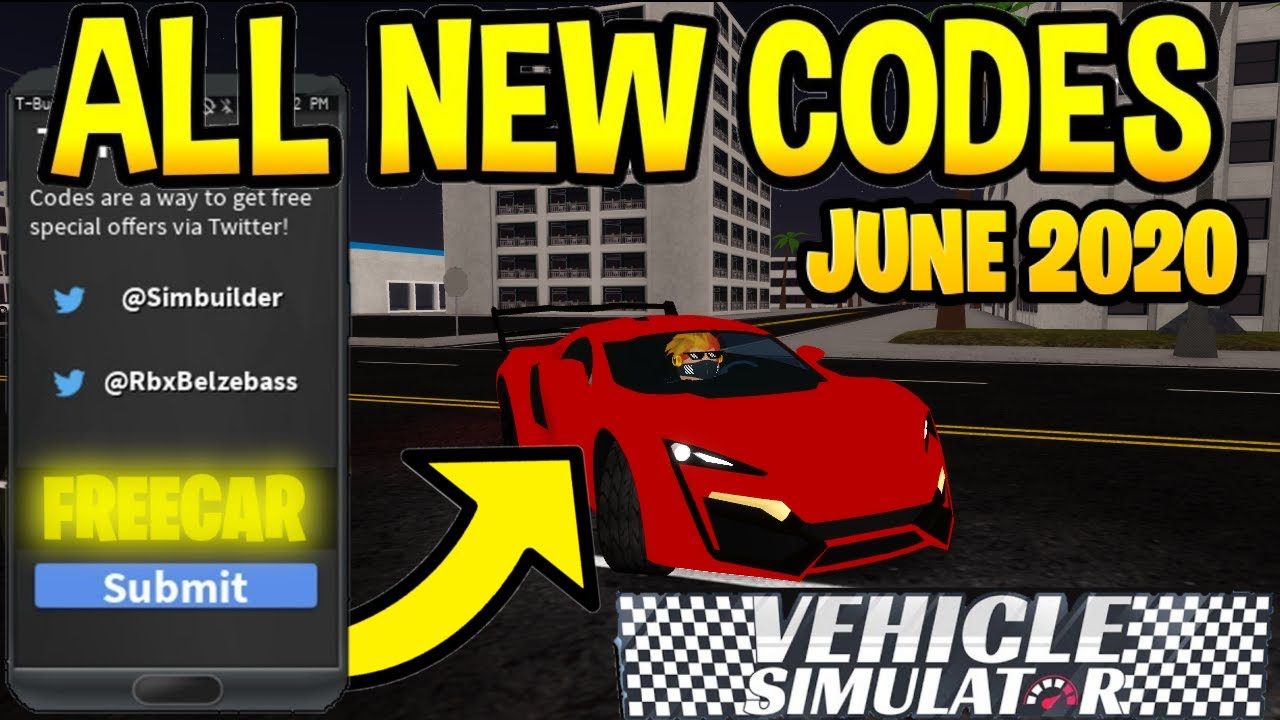 Roblox Vehicle Simulator Tesla Model S Roblox Beyond Codes 062 Vehicle Simulator All New Working Codes All Working Codes June 2020 Roblox Youtube