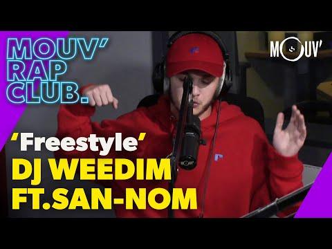 Youtube: DJ Weedim Ft. San-Nom:«Freestyle» (Live @ Mouv' Rap Club)