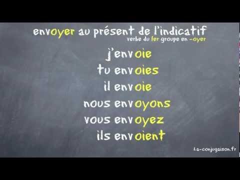 Envoyer Au Present De L Indicatif La Conjugaison Fr Youtube