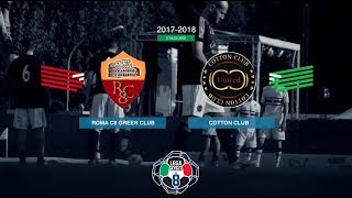 Roma C8 Green Club 2-1 Cotton Club | Coppa Italia - Finale | Highlights