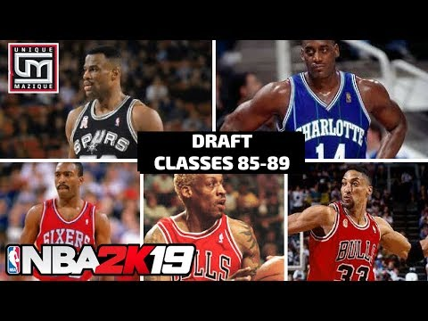 NBA 2K19 | MyLeague News | Historic Draft Classes (1985-89