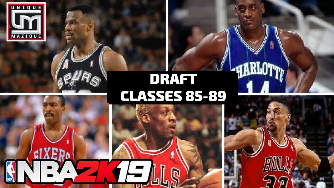 NBA 2K19 | MyLeague News | Historic Draft Classes (1985-89)