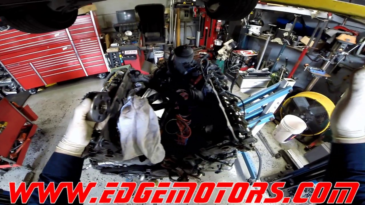 Audi S4 4 2L camshaft adjuster failure (timing codes and misfire) by Edge  Motors