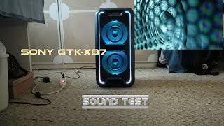 Sony GTK XB7 - Sound test - Woofer 🔊