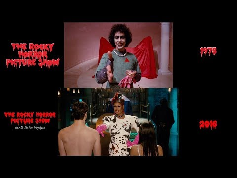 Rocky Horror Picture Show (1975/2016): Side-by-Side Comparison