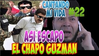 Repeat youtube video ASÍ SE ESCAPÓ EL CHAPO GUZMAN | CANTANDO MI VIDA 22 | FALCONY