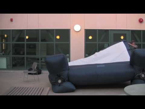 Inflatable Movie Screen Fail