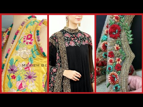 Top Stylish And Trendy Party wear Embroidered Dress Designs Collection 2019// Latest Hand Embroidery