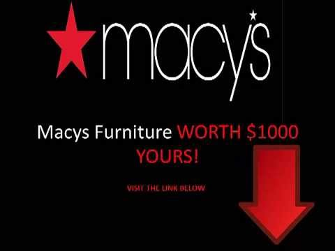 Macys Furniture Outlet   With MUST SEE DEALS