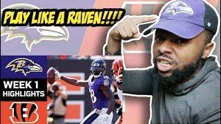 Ravens vs. Bengals | NFL Week 1 Game Highlights Reaction