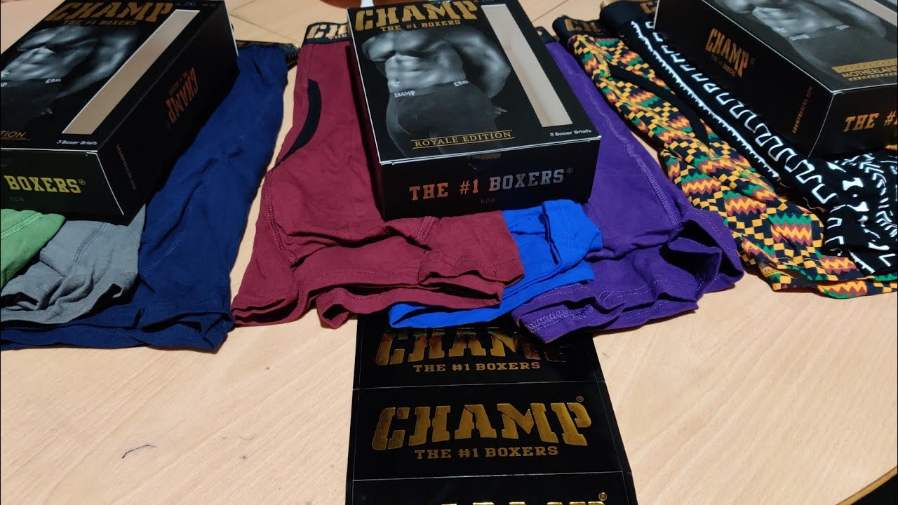 Champ Boxers Unboxing 2019