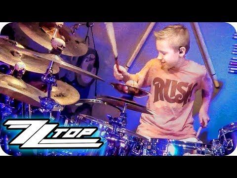 LA GRANGE - ZZ TOP (9 year old Drummer) Drum Cover by Avery Drummer Molek