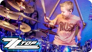 LA GRANGE - ZZ TOP (9 year old Drummer) Cover by Avery Drummer