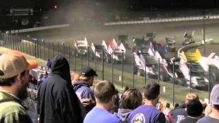 Devils Bowl Speedway | Sprint Car Crash