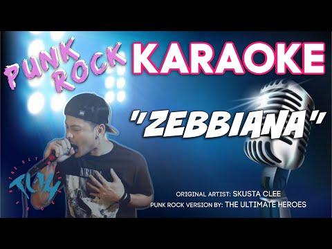 """""""Zebbiana"""" KARAOKE  Pop Punk  by The Ultimate Heroes"""