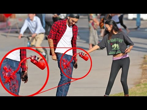 PICKING UP GIRLS USING MAGIC PANTS PRANK!