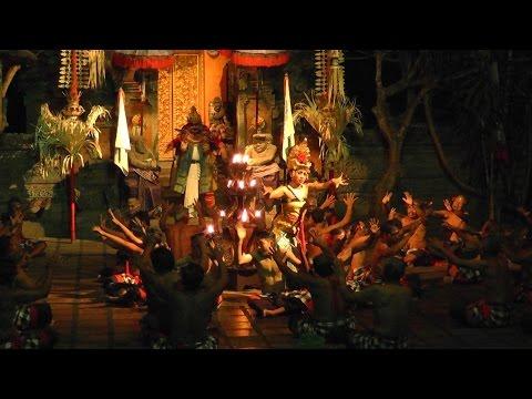 Indonesia, Bali, Batubulan - Kecak & Fire Dance (2016)