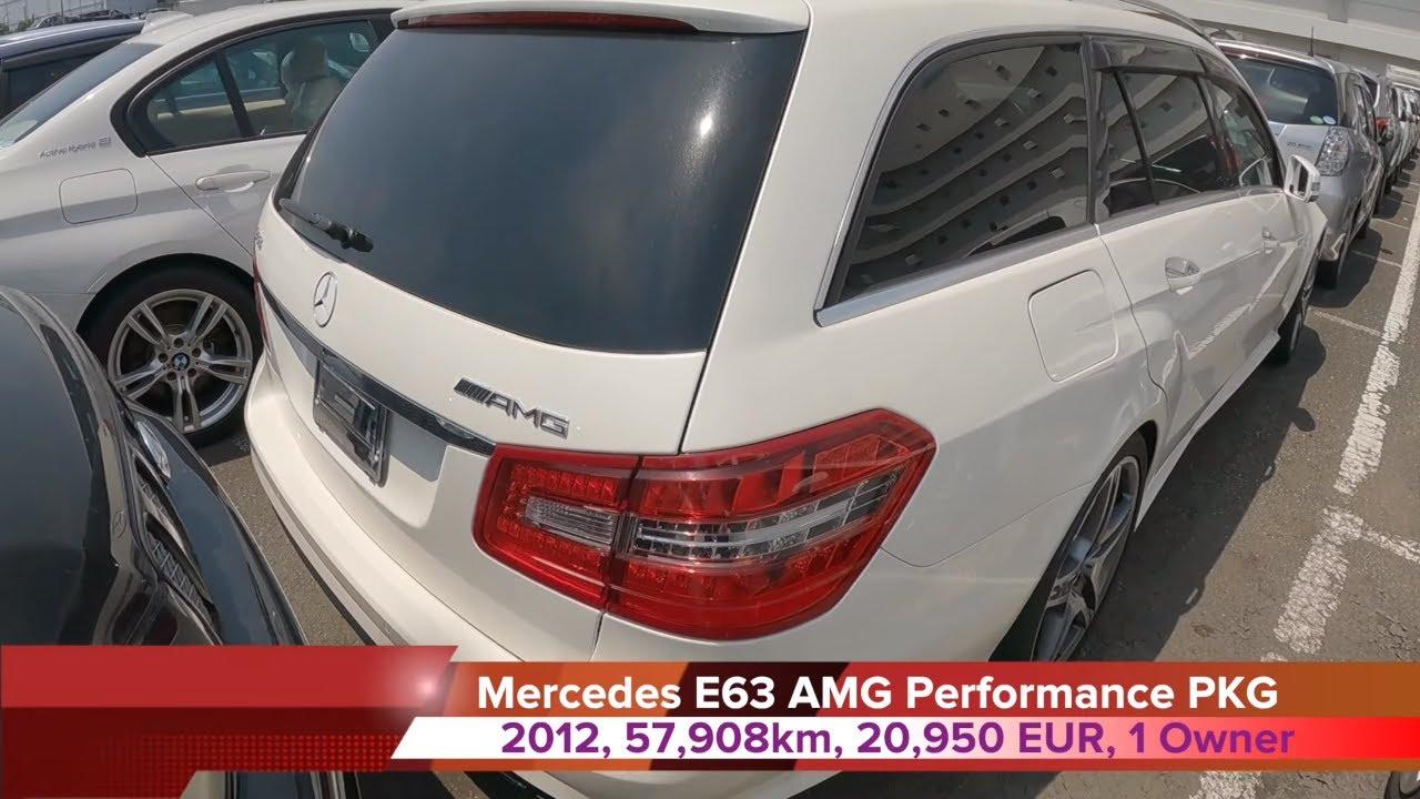 [SATILDI] SATILIK E63 AMG Performance Package, ILK SAHIBINDEN  | Japonic Trade
