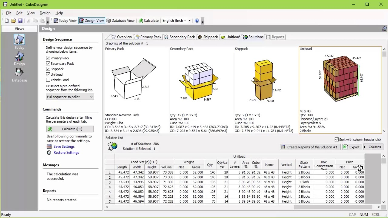 CubeDesigner and CubeMaster - How to have CubeMaster reuse the pallet  configuration of CubeDesigner