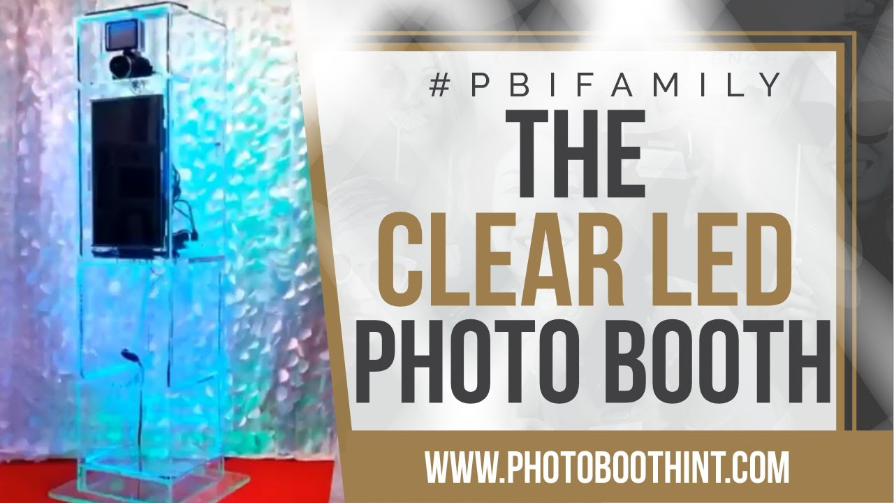 LED Photo Booth - Photo Booth International