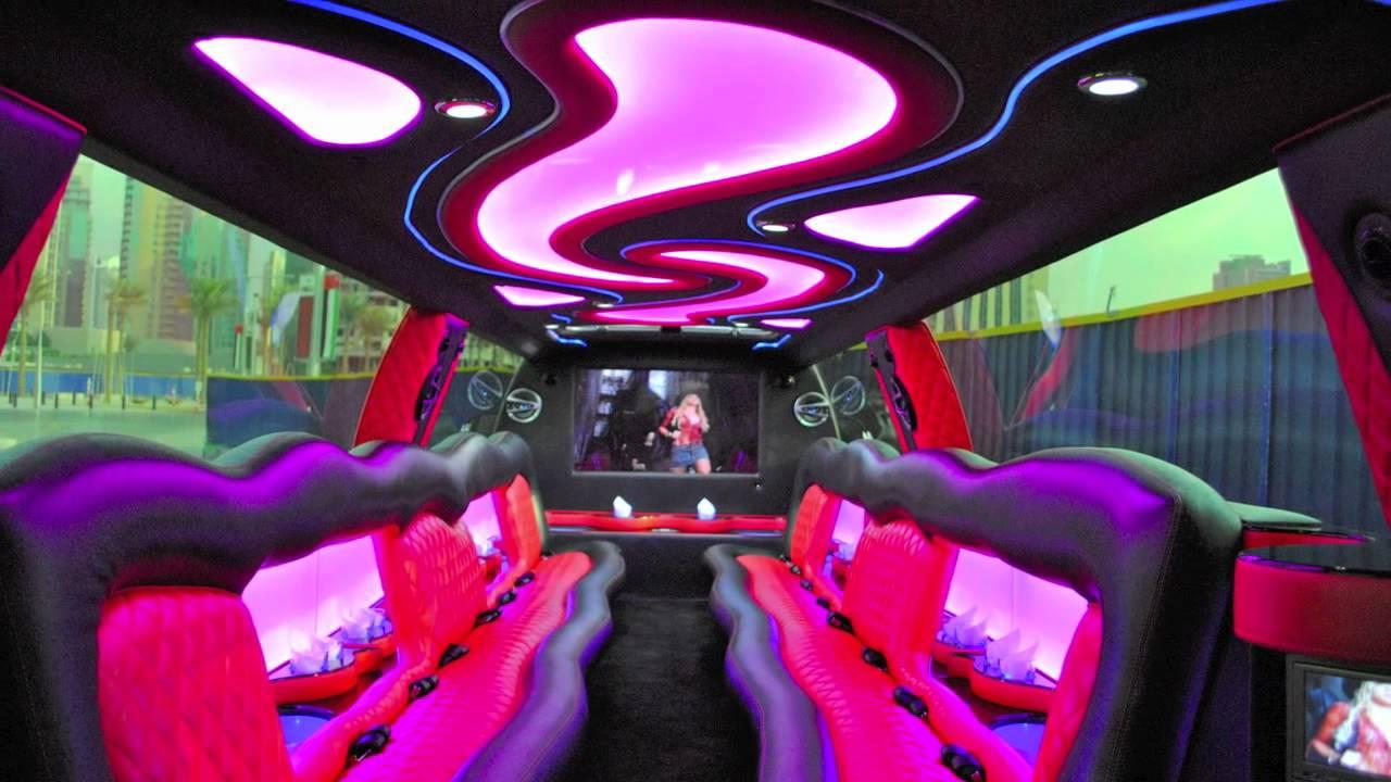 Cadillac Escalade Limo By Dubai Exotic Limo YouTube