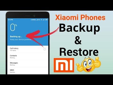 How To Backup & Restore Data In Any Xiaomi Phone !! Hindi - हिंदी !!
