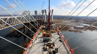 Exclusive: Stunning views of new Goethals Bridge under construction