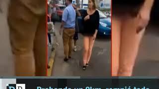 Video: Le prestaron en la concesionaria un 0 km para probar y mirá que pasó
