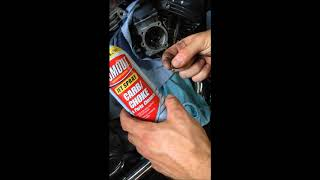 How to Clean 2000 Harley Davidson Electra Glide 88CI Carb Cleaning (Pilot Jet)