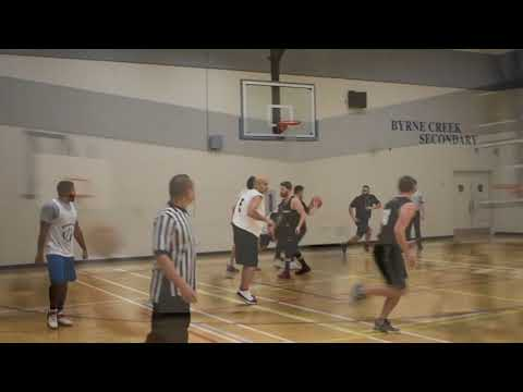 Burnaby Winter League- Swish Kabob vs Blouses - Roundball BC Mens Basketball League