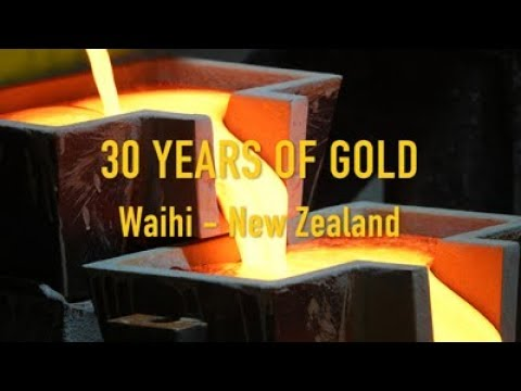 Gold Pour - 30 Years of Gold in Waihi