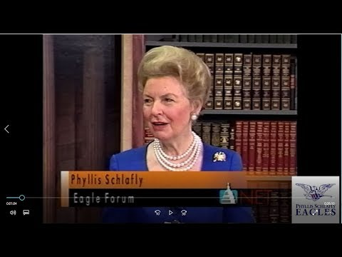 "Phyllis Schlafly on Patent Legislation - ""Morning View"" 1997"