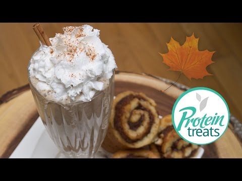Maple Cinnamon Roll Smoothie Protein Treats by Nutracelle