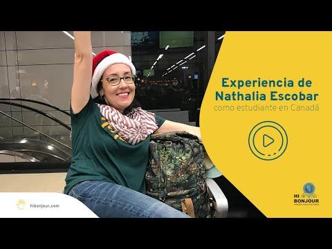 Experiencia de Nathalia Escobar como estudiante en Canadá con asesoría de Hi Bonjour