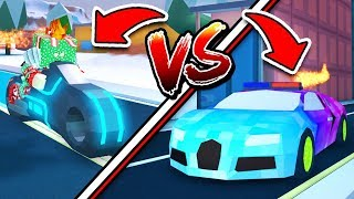 VOLT BIKE IS FASTER THAN BUGATTI!? NEW FASTEST VEHICLE! (Roblox Jailbreak Winter Update)