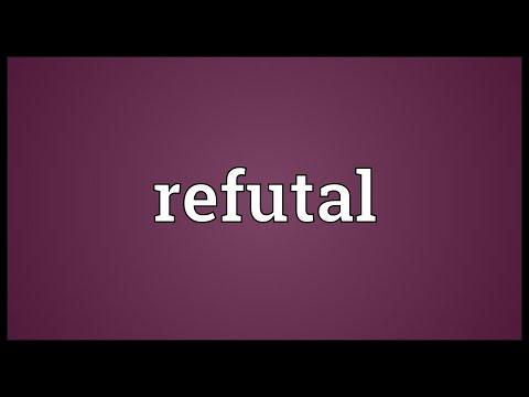 Header of refutal