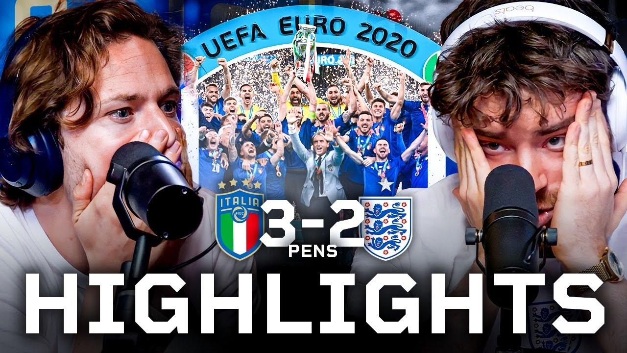 England Suffer Penalty HEARTBREAK In EURO2020 Final
