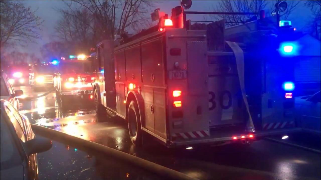 Garage/house fire, Seneca Ave., Waterloo, Iowa Dec. 11, 2017