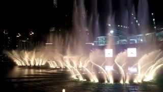 Mi viaje a Dubai (EUA) Burj Khalifa | El Espectáculo de Fuentes Más Grande del Mundo